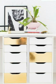 Decorate your desk drawers