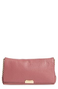 BURBERRY 'Mildenhall' Signature Grain Leather Convertible Crossbody Bag. #burberry #bags #shoulder bags #lining #crossbody #suede