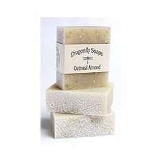 Oatmeal Almond Exfoliating Soap - All Natural Handmade Soaps