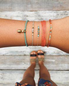 Stacks in Tulum   Pura Vida Bracelets