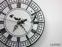 This Peter Pan clock: