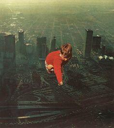 """houston"" urban collage work by Jesse Treece"