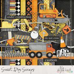 Digital Scrapbooking kit by Sweet Digi Scraps AT WORK http://www.thedigichick.com/shop/At-Work.html