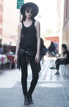 Preto | Black | All black | http://cademeuchapeu.com/