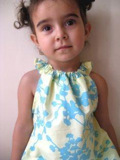 PDF pattern- sweet ruffle dress- 12m to 4T
