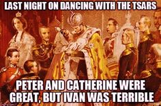 DANCING WITH THE TSARS