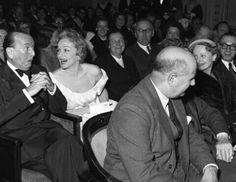 Marlene Dietrich with Noel Coward