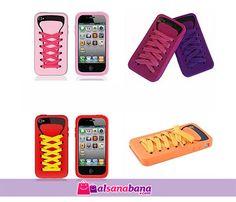 Bağcıklı iPhone Kılıfı iShoe Renkli mi renkli şirin mi şirin sevimli ayakkabı şeklinde iPhone 4/4S kılıfı. Ayakkabı iPhone kılıfı iShoe ile telefonunuz üşümeyecek aynı zamanda toz, kir ve darbeye karşı korunacak.