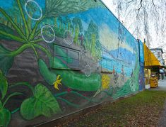 A mural by Emily Gray
