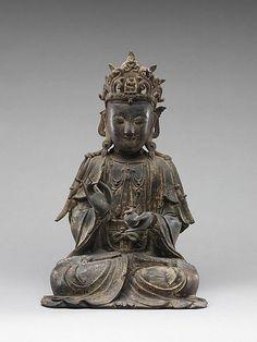 Bodhisattva Period: Ming dynasty Date: century Culture: China Medium: Gilt bronze Buddha Buddhism, Buddhist Art, Asian Sculptures, Southeast Asian Arts, Sacred Art, Religious Art, Ancient Art, Metropolitan Museum, Sculpture Art