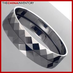 8MM TUNGSTEN CARBIDE FACETED BANGLE BRACELET B2601 Bracelets For Men, Bangle Bracelets, Bangles, Tungsten Carbide, Wholesale Jewelry, Pearl Jewelry, Costume Jewelry, Pearls, Diamond