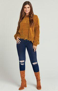 11cda81e36 Fawn Sweater ~ Ochre Chenille Knit · Show Me YourCozy ...