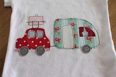 """T-Shirts - Sommershirt """"Hippie Holiday"""" - ein Designerstück von milla-louise bei DaWanda"""