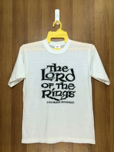 e3ca7d97 70s Rare Vintage 1978 Lord Of The Ring Tshirt Tolken | Etsy Movie Shirts,  Vintage