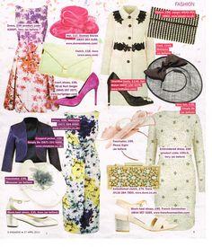 Ted Baker Footwear on Sunday Express Magazine 27.04.14