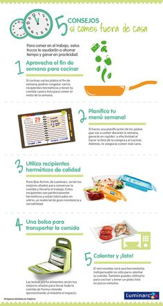 #Consejos que te harán la vida más fácil si comes fuera de casa. #Comerfuera