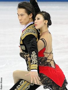 Are any of the ice skating pairs dating