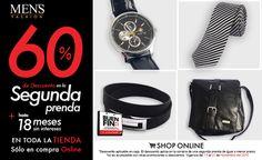Adquiere #Accesorios #Fashion en el #BuenFin 60% OFF en la segunda prenda, exclusivamente en tienda online.   Ingresa: www.mensfashion.com.mx