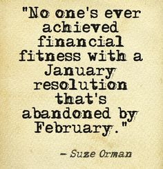 Suze Orman's February quote http://theLendingMag.com #finance #personalfinance #financialfitness