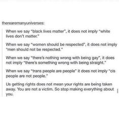 This. This is exactly how men responded during women's suffrage movement. Did they lose rights? No they did not.