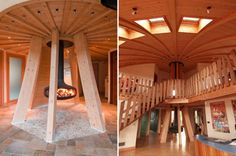 Decorating , Earthquake Resistant Proof House Idea : Earthquake Proof House Inside The Dome House