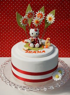 Hello Kitty Cake by Alessandra Cake Designer, via Flickr