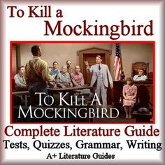 To Kill a MockingbirdThis is a 154 page Complete Literature Guide for the novel, To Kill a Mockingbird, by Harper Lee. Put away boring test prep, and teach all of the Language Arts  Common Core Standards using this Literature Guide and a book that students will love!