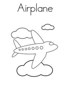 top 35 airplane coloring pages your toddler will love - Coloring Books For Toddlers