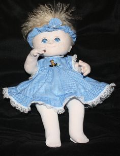Beautiful Doll in the Intermediate Category - 2013 Cloth Baby Doll Challenge - Doll Net