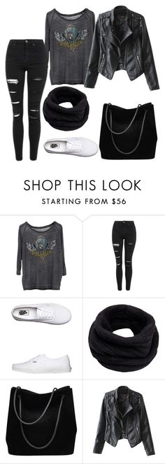 """""""Untitled #392"""" by vickyagh on Polyvore featuring Chaser, Topshop, Vans, Helmut Lang and Gucci"""