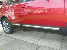 ABS chrome auto side door trim moulding for Nissan Qashqai 2010-2013, 4pcs,auto accessories