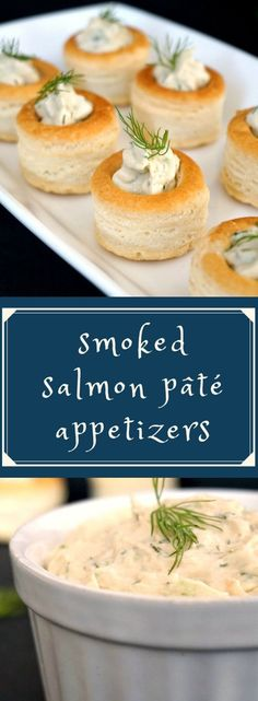 Homemade smoked salmon pâté, one of the quick easy party appetizers everybody loves. Delicious, and so simple, yet so delicate. Perfect for the New Year Eve's Party or any other celebration, these bites are simply delicious. #newyearspartyappetizers, #appetizersforaparty , #appetizersforacrowd , #smokedsalmonpate, #smokedsalmonappetizers
