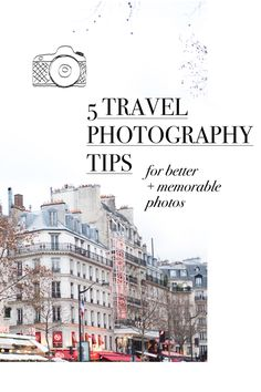 Tips for taking beautiful travel photos for your blog, instagram, or just for keeps