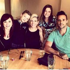 Jen with John and Korey plus their children Xavier and Alex