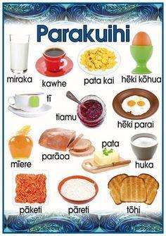 Māori Poster: Breakfast
