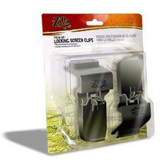 Zilla 09732 Fresh Air Locking Screen Clips, 2-Pack
