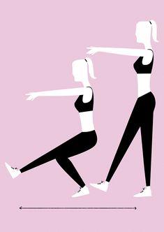 ejercicio corazón Ejercicios Para Glúteos 9c65eb9c7ae9