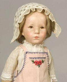 "Cloth Kathe Kruse ""German Child"" Doll"