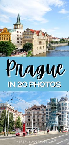 Prague is a charming city with colorful baroque buildings, Gothic churches and a medieval Astronomical Clock. Here are 20 photos to inspire you to visit Prague! Travel Around The World, Around The Worlds, Visit Prague, Prague Travel, Prague Czech Republic, The Republic, Travel Guides, Baroque, Adventure Travel