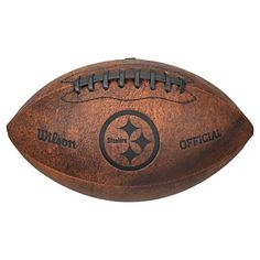 NFL Wilson 9 inch Throwback Football - Pittsburg Steelers Florida State  Seminoles b994aeb5e1d9a