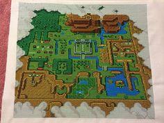 Amazing Legend Of Zelda Cross Stitch Map [Pic]