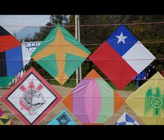 Volantines Dieciocheros Nativity, Quilts, Country, Cards, Color, Kites, September, Earth, Memories