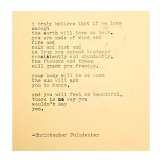 The  Universe and Her and I #251 written by Christopher Poindexter.
