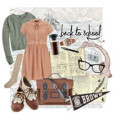 """Back to School // College Prep"" by seabirdx on Polyvore"