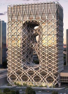 Zaha Hadid . Macau Hotel