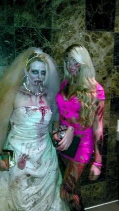 Zombies bachelorette party