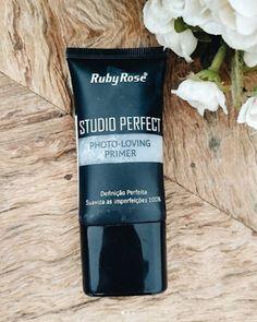 Primer Studio Perfect Ruby Rose - Rainhas da Pechincha Ruby Rose, Skin Makeup, Beauty Makeup, How To Make Hair, Make Up, Studio Fix, Cheap Makeup, Perfect Skin, Body Care