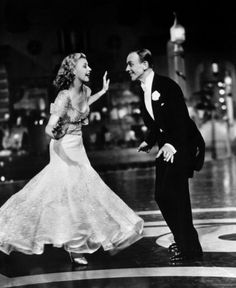 "Ginger Rogers & Fred Astaire dancing ""Cheek to Cheek"" - Top Hat ( www.youtube.com/... )"