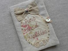 gentlework:  this lady makes lovely things from vintage bits and bobs....very elegant and prim