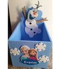 Resultado de imagen para caja de regalos frozen
